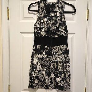 Robert Rodriguez black n white dress sz 2